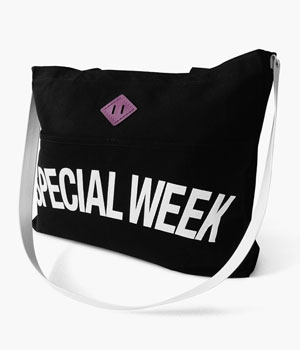 SPECIAL WEEK REINS TOTE BAG