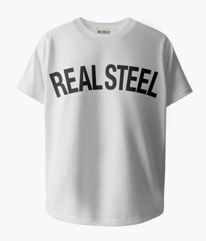 REAL STEEL BASIC T-SHIRTS