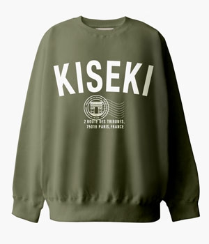 KISEKI INVITATION SWEAT SHIRTS