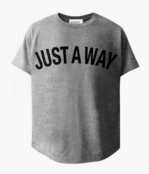 JUST A WAY BASIC T-SHIRTS
