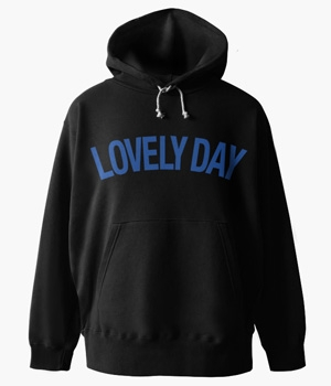 LOVELY DAY BASIC HOODIE