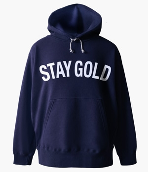 STAY GOLD BASIC HOODIE