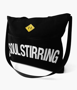 SOUL STIRRING REINS TOTE BAG