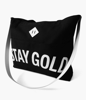 STAY GOLD REINS TOTE BAG