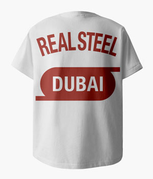 REAL STEEL DUBAI POCKET T-SHIRTS