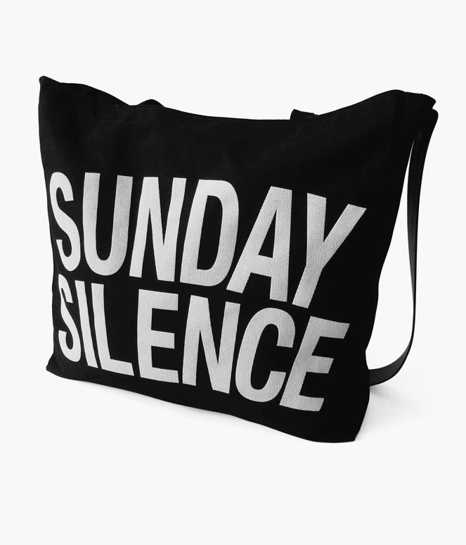 SUNDAY SILENCE REINS TOTE BAG