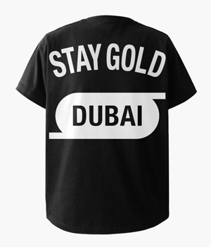 STAY GOLD DUBAI POCKET T-SHIRTS