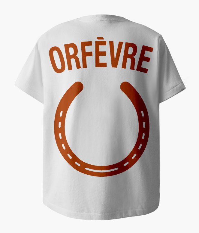 ORFEVRE HORSESHOE POCKET T-SHIRTS