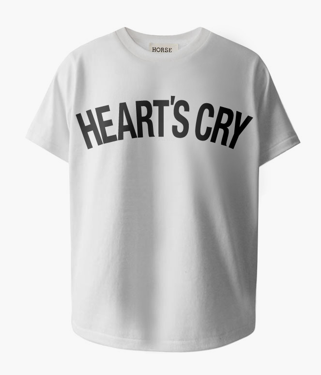 HEART'S CRY BASIC T-SHIRTS