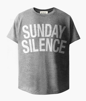 SUNDAY SILENCE BASIC T-SHIRTS