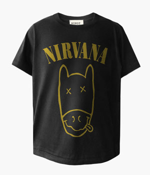 "NIRVANA ""NEVER GIVE UP"" T-SHIRTS"