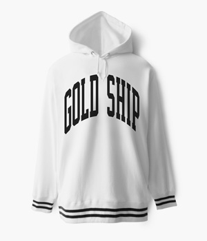 GOLD SHIP CREW PULLOVER HOODIE