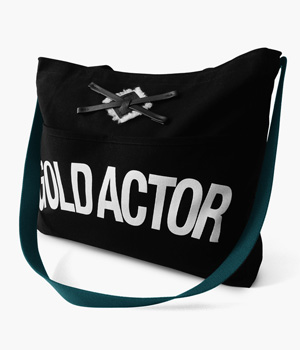 GOLD ACTOR REINS TOTE BAG