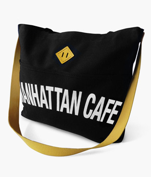 MANHATTAN CAFE REINS TOTE BAG