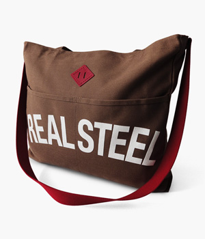 REAL STEEL REINS TOTE BAG